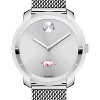 University of Arkansas Women's Movado Stainless Bold 36
