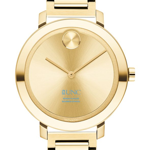 UNC Kenan–Flagler Business School Women's Movado Gold Bold 34
