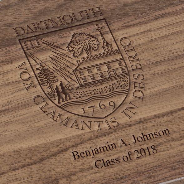 Dartmouth College Solid Walnut Desk Box - Image 3
