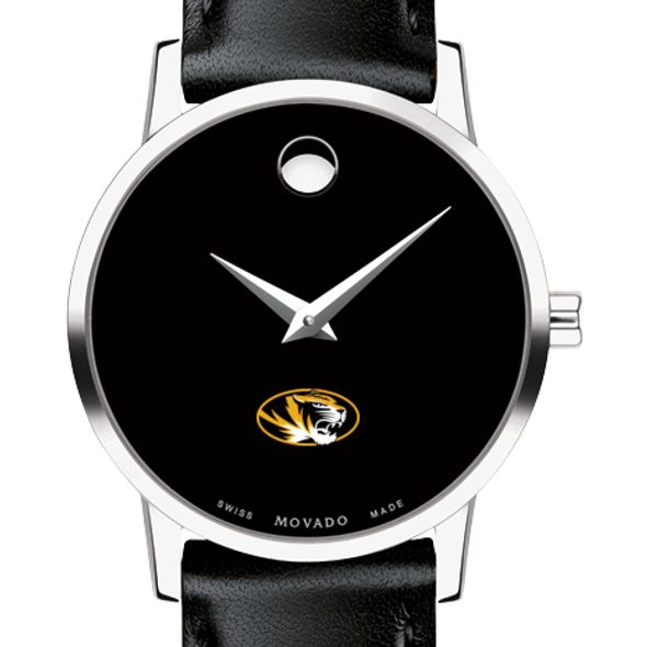 University of Missouri Women's Movado Museum with Leather Strap