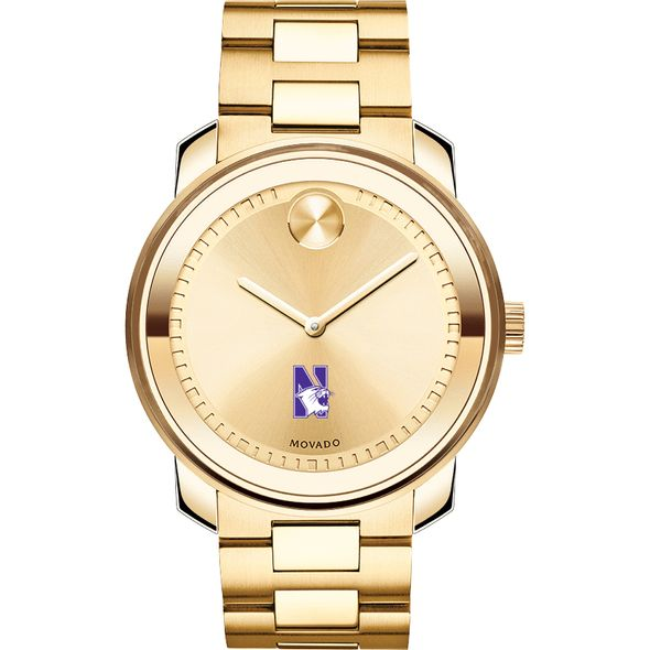Northwestern University Men's Movado Gold Bold - Image 2