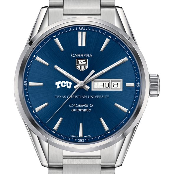 Texas Christian University Men's TAG Heuer Carrera with Day-Date