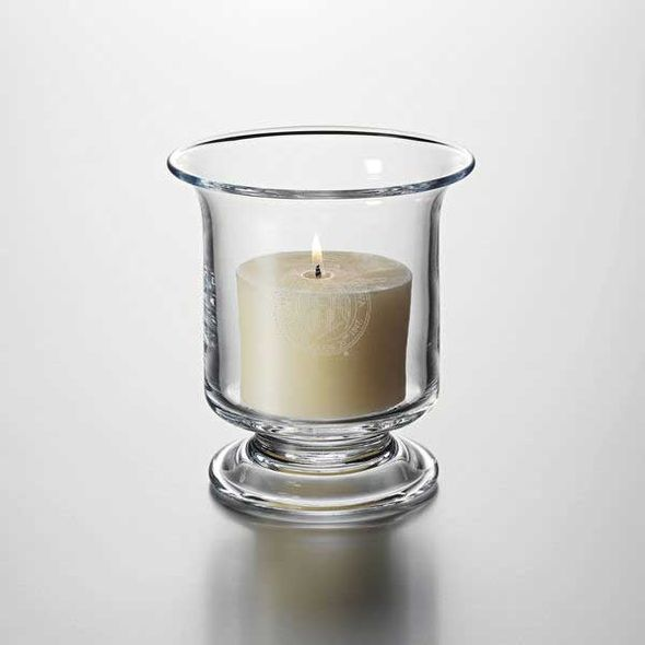 University of Iowa Hurricane Candleholder by Simon Pearce - Image 1