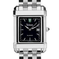 Tulane Men's Black Quad with Bracelet