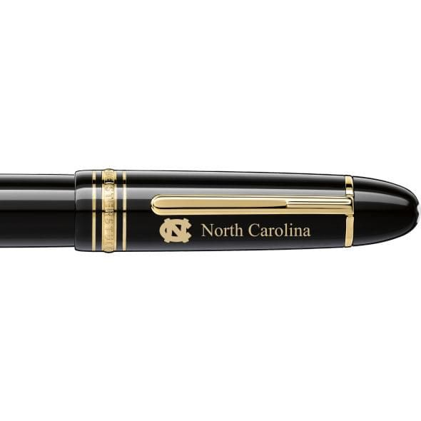 North Carolina Montblanc Meisterstück 149 Fountain Pen in Gold - Image 2