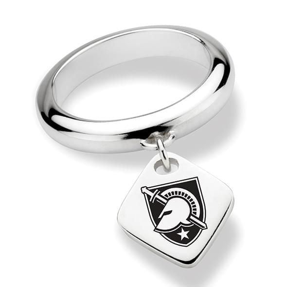 US Military Academy Sterling Silver Ring with Sterling Tag - Image 1