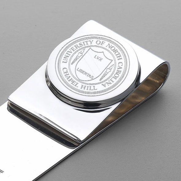 UNC Sterling Silver Money Clip - Image 2