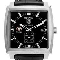University of Georgia Men's Monaco Watch by TAG Heuer