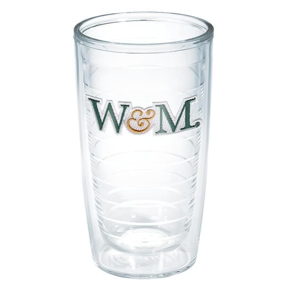 William & Mary 16 oz Tervis Tumblers - Set of 4