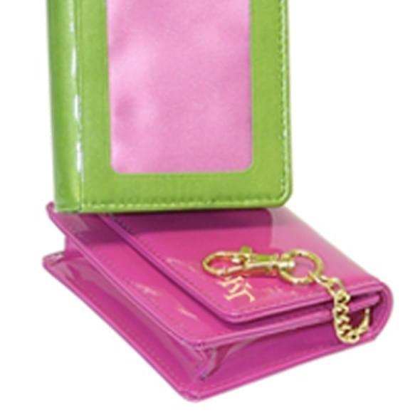 Kappa Kappa Gamma Card Case with Clip - Image 2
