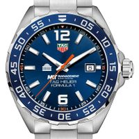 MIT Sloan Men's TAG Heuer Formula 1 with Blue Dial & Bezel