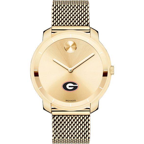 University of Georgia Women's Movado Gold Bold 36 - Image 2
