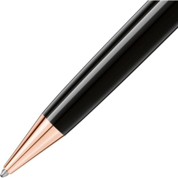 NYU Stern Montblanc Meisterstück LeGrand Ballpoint Pen in Red Gold - Image 3