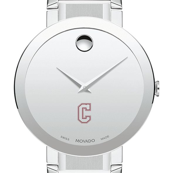 College of Charleston Men's Movado Sapphire Museum with Bracelet