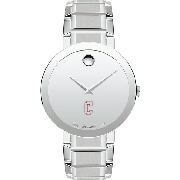 College of Charleston Men's Movado Sapphire Museum with Bracelet - Image 2