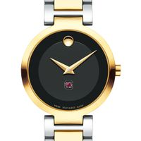 University of South Carolina Women's Movado Two-Tone Modern Classic Museum with Bracelet
