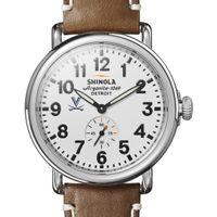 UVA Shinola Watch, The Runwell 41mm White Dial