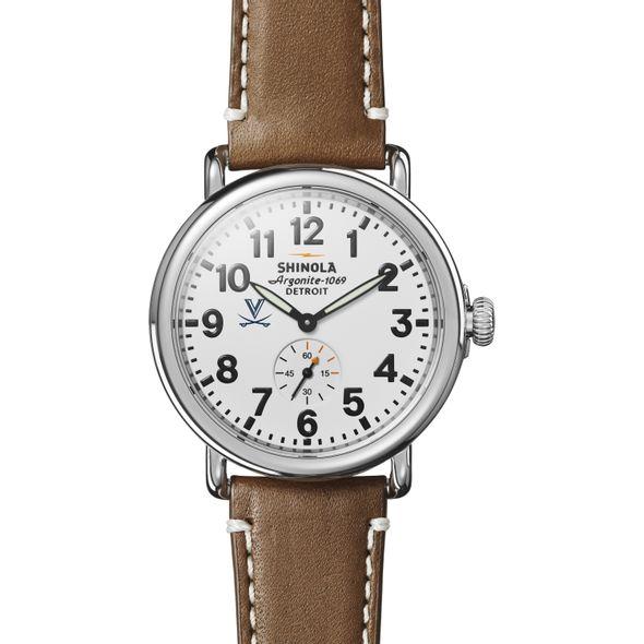 UVA Shinola Watch, The Runwell 41mm White Dial - Image 2