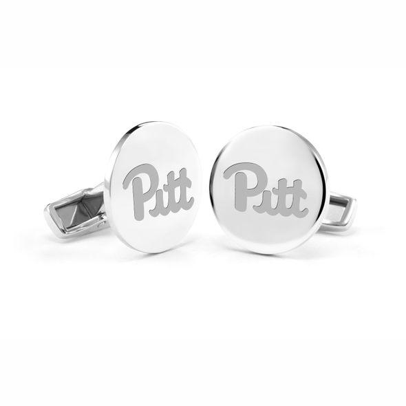Pitt Cufflinks in Sterling Silver