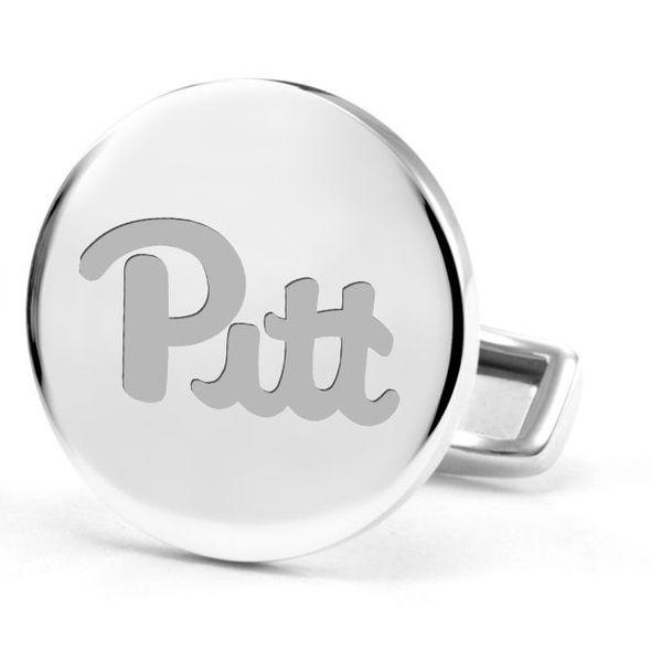 Pitt Cufflinks in Sterling Silver - Image 2