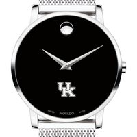 University of Kentucky Men's Movado Museum with Mesh Bracelet