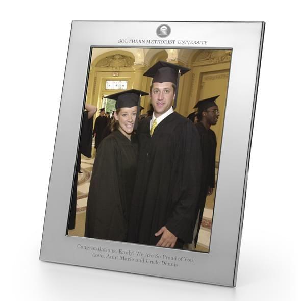 SMU Polished Pewter 8x10 Picture Frame - Image 2