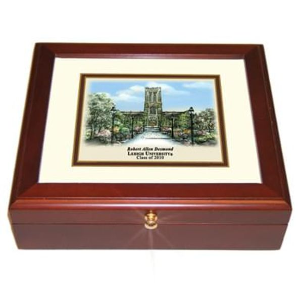 Lehigh Eglomise Desk Box