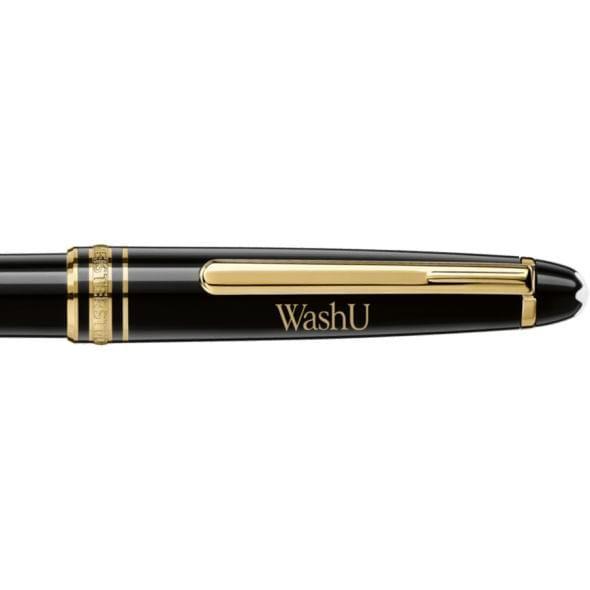 WashU Montblanc Meisterstück Classique Ballpoint Pen in Gold - Image 2