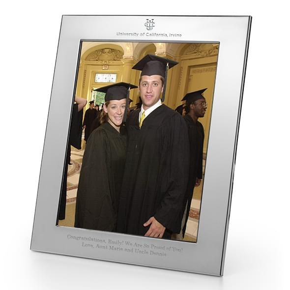 University of California, Irvine Polished Pewter 8x10 Picture Frame - Image 1