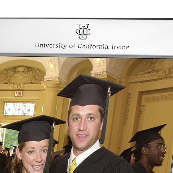 University of California, Irvine Polished Pewter 8x10 Picture Frame - Image 2