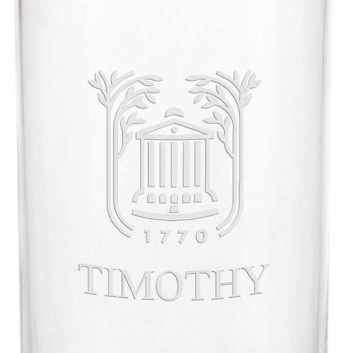 College of Charleston Iced Beverage Glasses - Set of 4 - Image 3