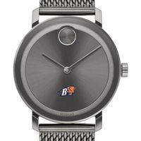 Bucknell University Men's Movado BOLD Gunmetal Grey with Mesh Bracelet