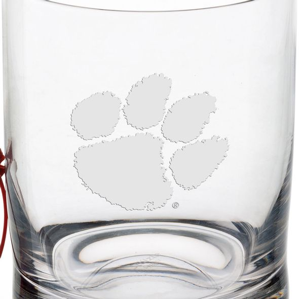 Clemson Tumbler Glasses - Set of 2 - Image 3