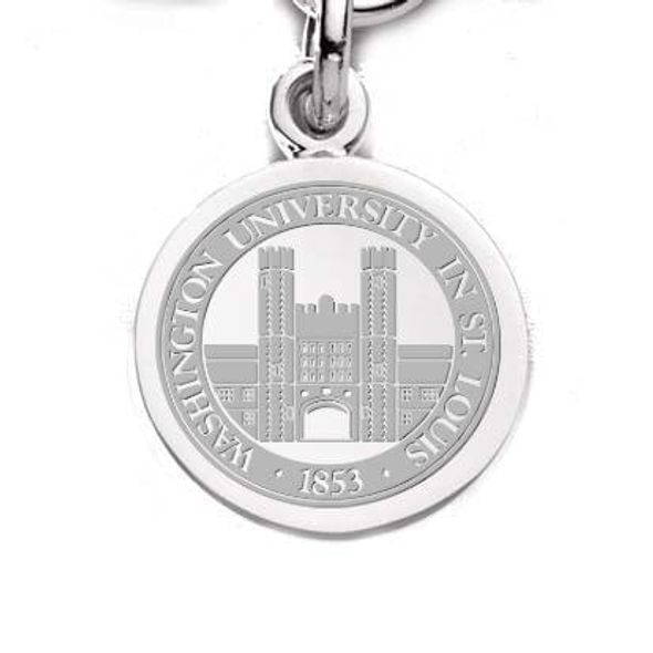 WashU Sterling Silver Charm - Image 1