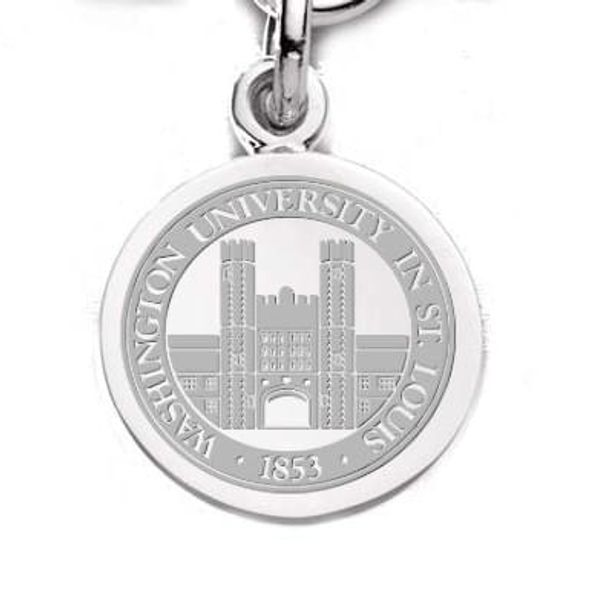 WashU Sterling Silver Charm - Image 2