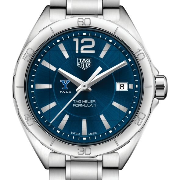 Yale University Women's TAG Heuer Formula 1 with Blue Dial