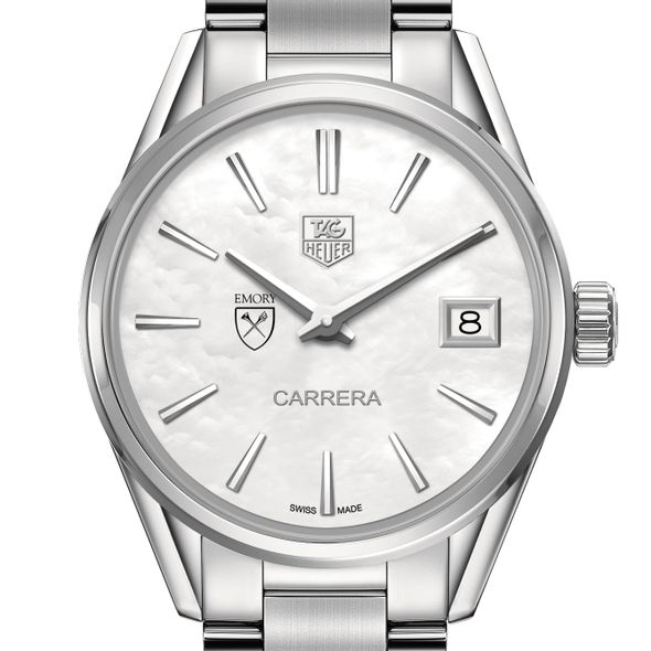 Emory University Women's TAG Heuer Steel Carrera with MOP Dial