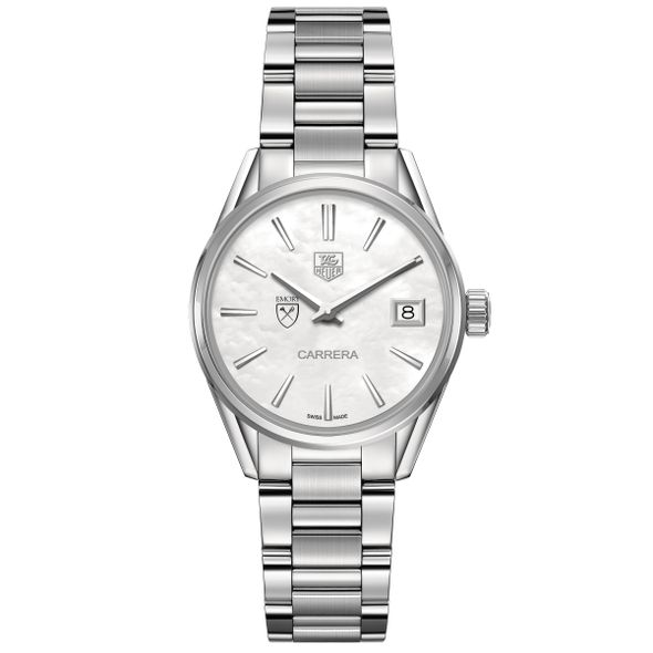 Emory University Women's TAG Heuer Steel Carrera with MOP Dial - Image 2
