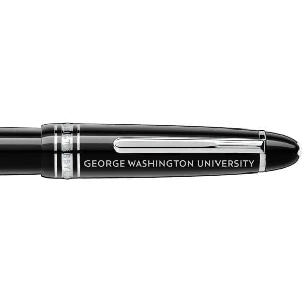 George Washington University Montblanc Meisterstück LeGrand Fountain Pen in Platinum - Image 2