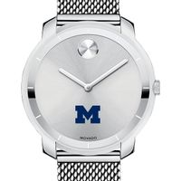 University of Michigan Women's Movado Stainless Bold 36