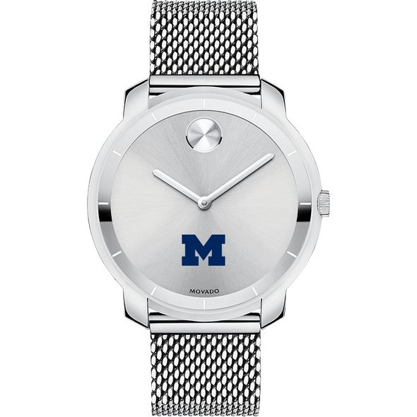 University of Michigan Women's Movado Stainless Bold 36 - Image 2