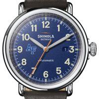 USAFA Shinola Watch, The Runwell Automatic 45mm Royal Blue Dial