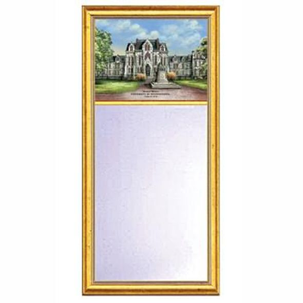Penn Eglomise Mirror with Gold Frame - Image 1