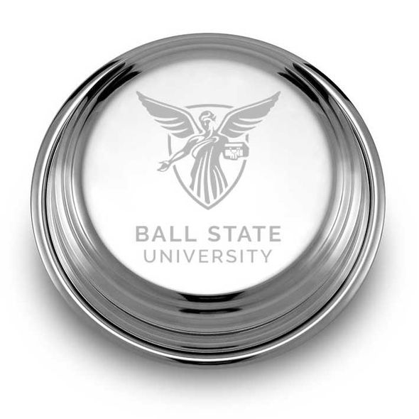 Ball State Pewter Paperweight - Image 1