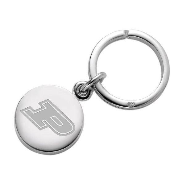 Purdue University Sterling Silver Insignia Key Ring