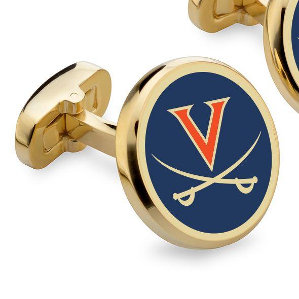 University of Virginia Enamel Cufflinks - Image 2