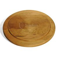 Saint Louis University Round Bread Server