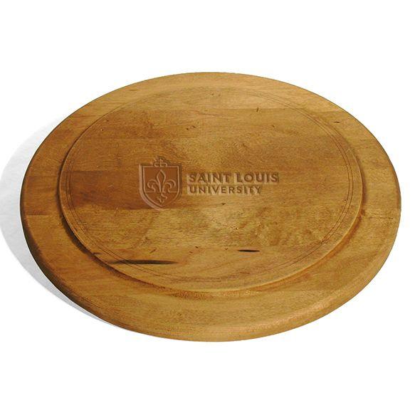 Saint Louis University Round Bread Server