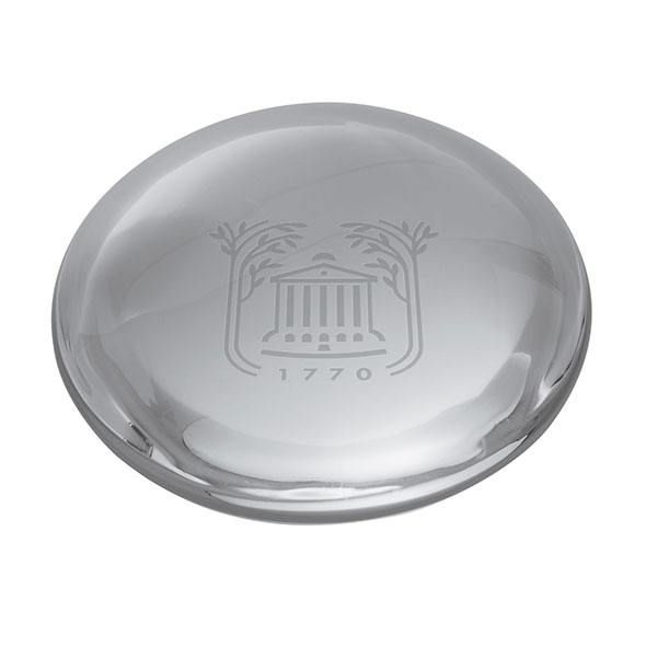 College of Charleston Glass Dome Paperweight by Simon Pearce
