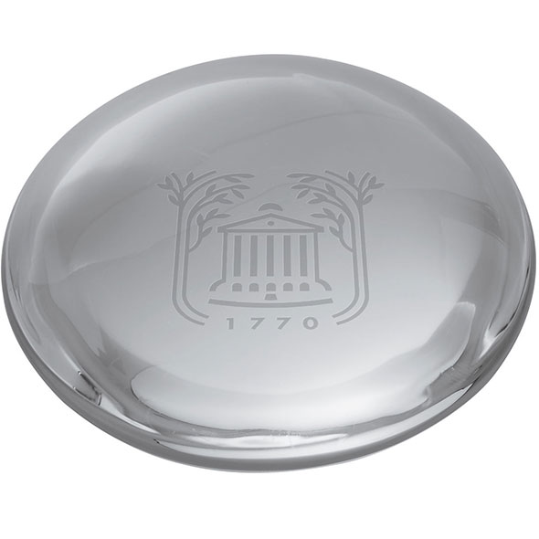 College of Charleston Glass Dome Paperweight by Simon Pearce - Image 2